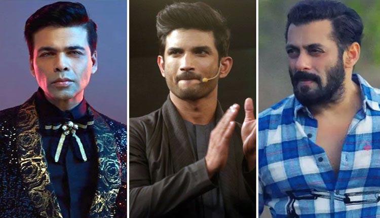 Karan Johar and Salman Khan Summoned For Sushant Singh Death