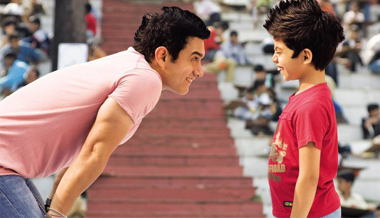 Aamir Khan and Darsheel Safari in Taare Zameen Par
