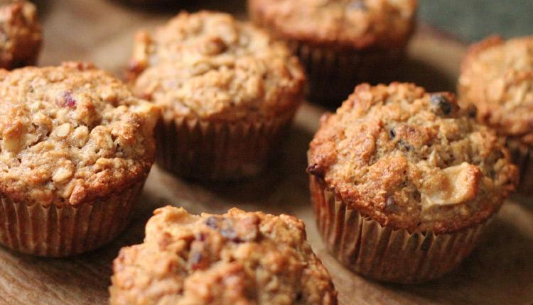 Banana-Oats-Muffins
