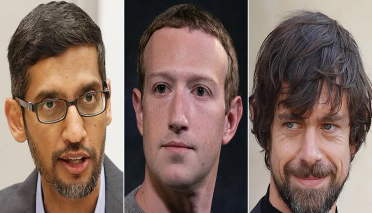 Twitter, Facebook, Google CEOs