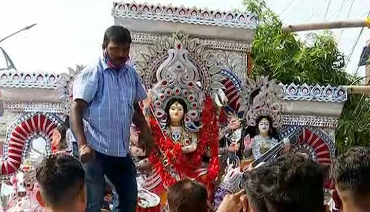 Dussehra: Idol Immersion Concludes In Cuttack