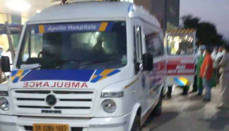 Green Corridor Created In Bhubaneswar To Shift Critical Patient To Chennai For Organ Transplant