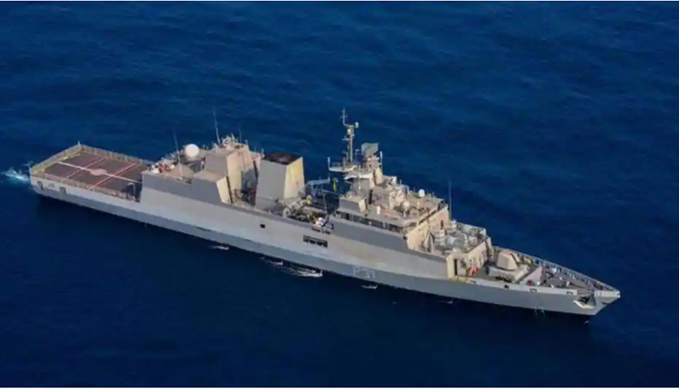 Indigenously-Built Anti-Submarine Warship INS Kavaratti Commissioned In Indian Navy