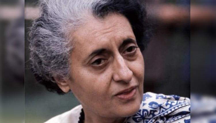 PM Narendra Modi Pays Tribute To Indira Gandhi On Death Anniversary