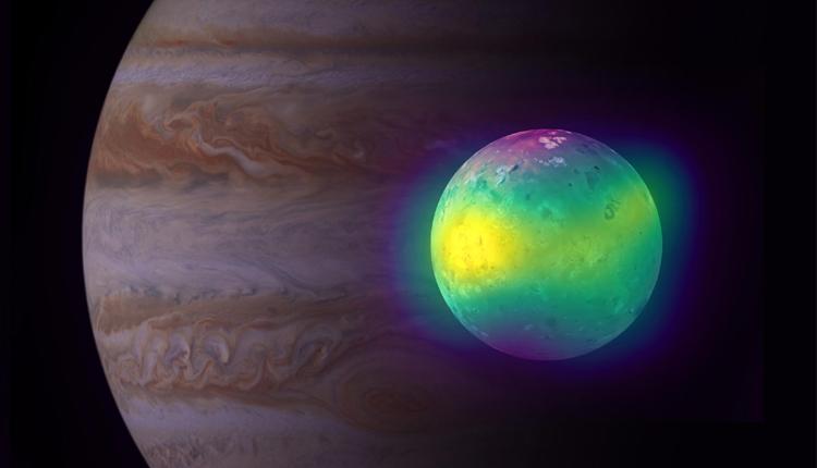 Astronomers Spot Volcanic Activity Effect On Jupiter's Moon Io