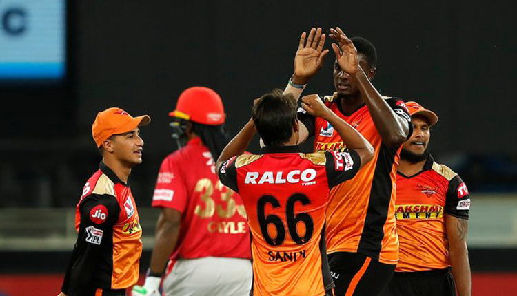 IPL 2020:SRH Restrict KXIP At 126 Runs At Loss Of 7 Wickets
