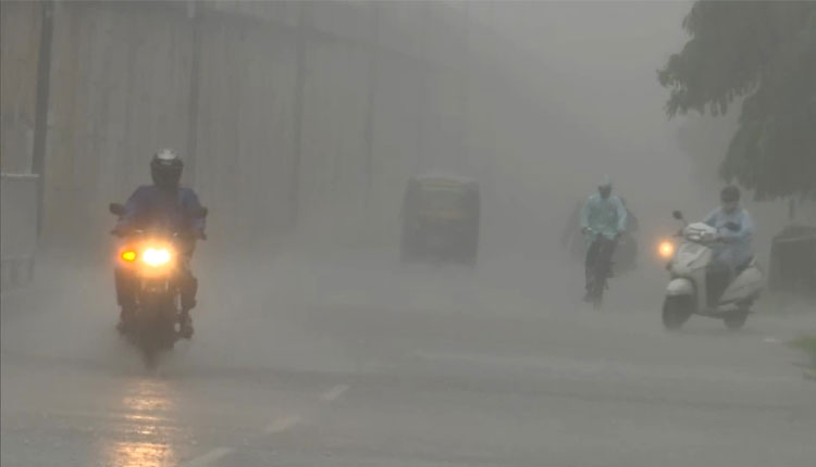 Low Pressure Forms Over Bay Of Bengal; Heavy Rain Likely In Odisha