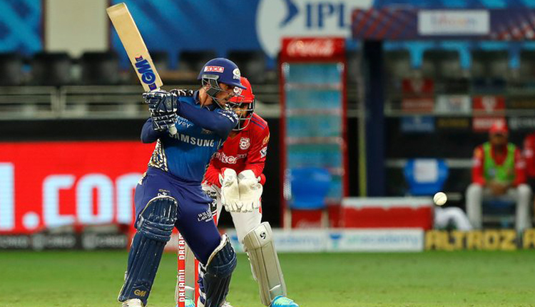 IPL 2020: KXIP On Quest To Beat MI, Mumbai Scores 176/6