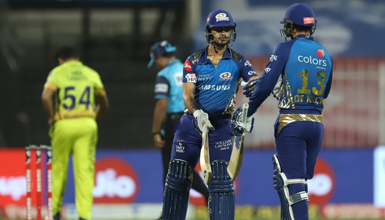 IPL 2020: Easy Win For MI Against CSK By 10 Wickets