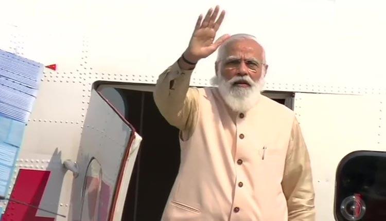 PM Narendra Modi Flags Off Seaplane Service In Gujarat