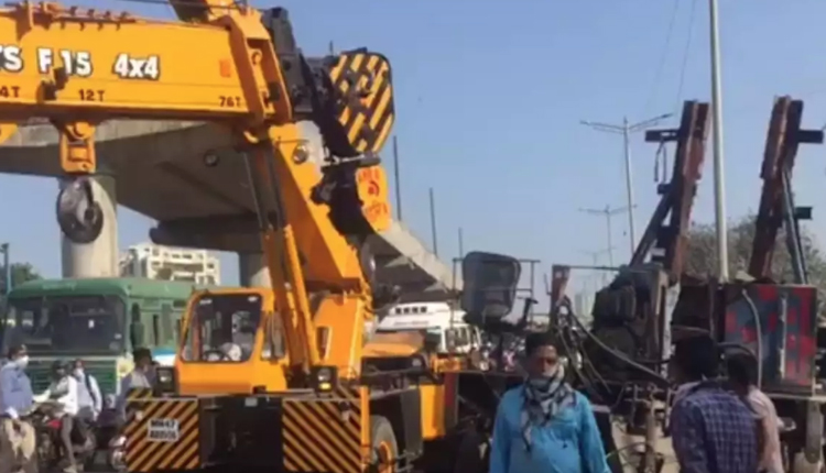 Mumbai Crane Collapse: Woman Killed, Two Injured