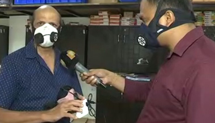 Odia IITian Invents A Next- Gen Mask To Battle The Pandemic.