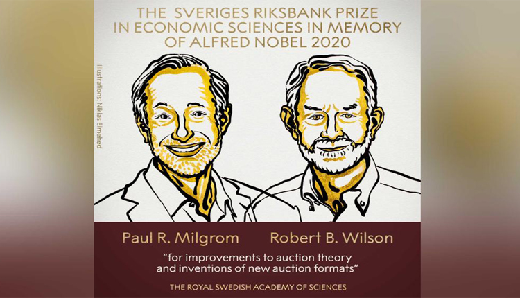 2020 Nobel Prize For Economics Awarded To 2 Stanford Economists For Auction Theory