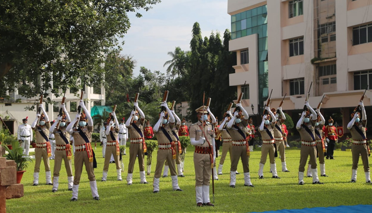 61st Police Commemoration Day at State Police Headquarters in Cuttack