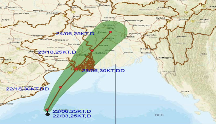 Red Alert Issued For 4 Odisha Districts as Depression To Intensify Into Deep Depression