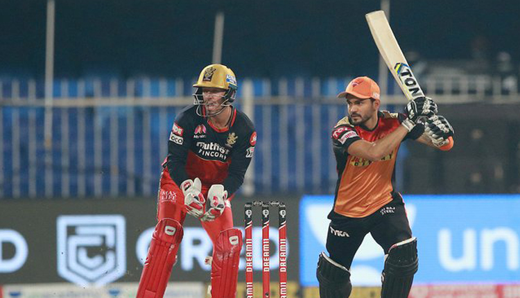 IPL 2020: SRH Beat RCB By 5 Wickets
