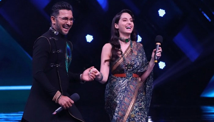 Terence Lewis Nora Fatehi in India's Best Dancer