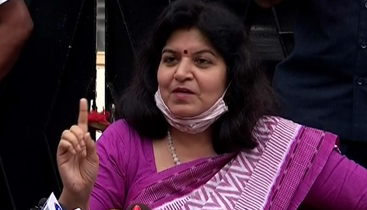 When Will BJD Office Get Sealed For COVID19 Norm Violation? BJP MP Aparajita After Own Office Sealing