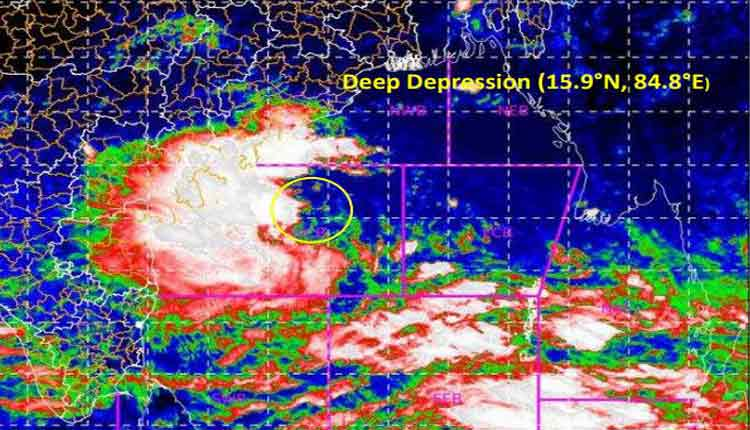 Depression Over Westcentral Bay of Bengal Intensifies Into Deep Depression: IMD
