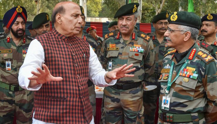 Defense Minister Tells Army Commanders To Be Wary Of Chinese Intent & Actions