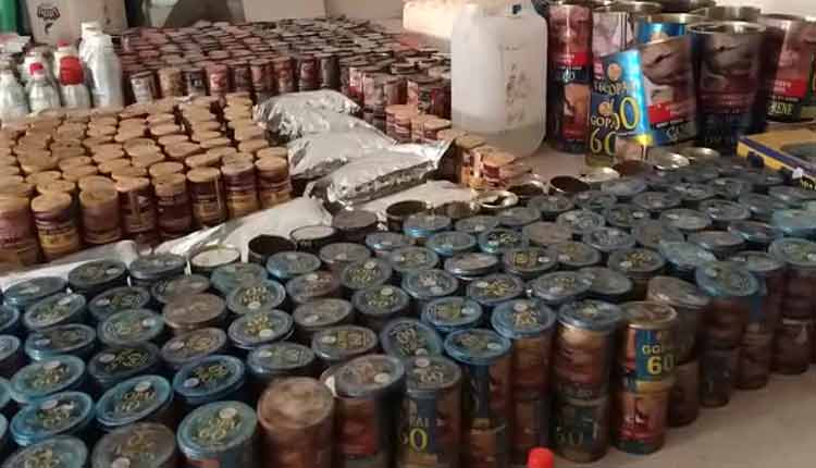 Duplicate Zarda Manufacturing Unit Busted In Odisha