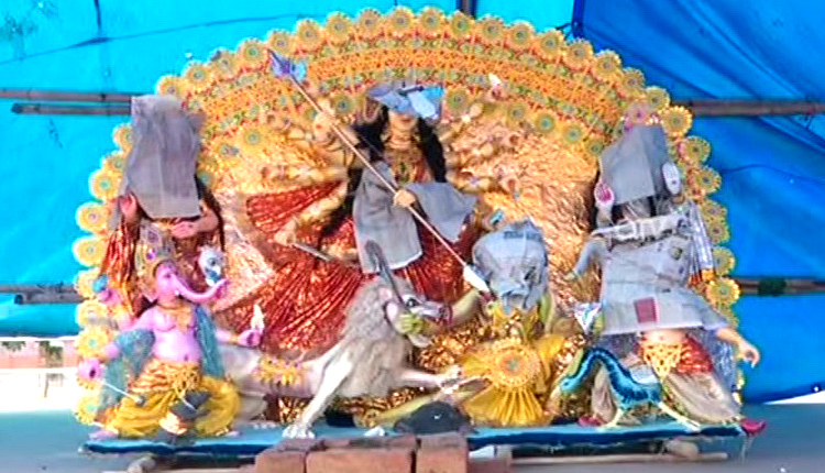 Durga Puja: No Gold & Silver Tableaus This Year In Cuttack