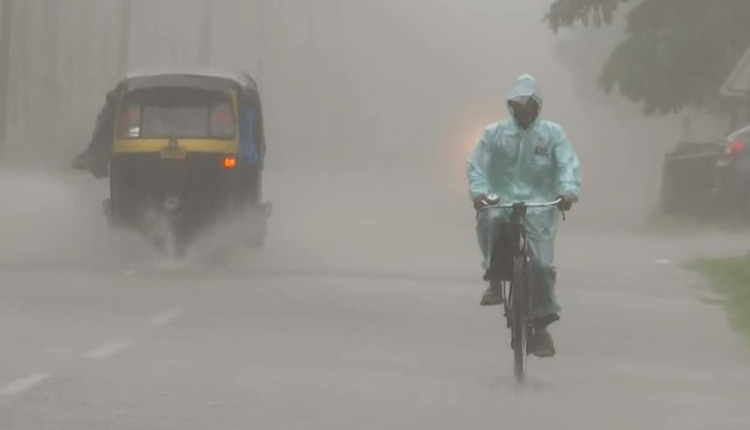 Heavy Rainfall Alert For 5 Odisha Districts in the next 24 hours