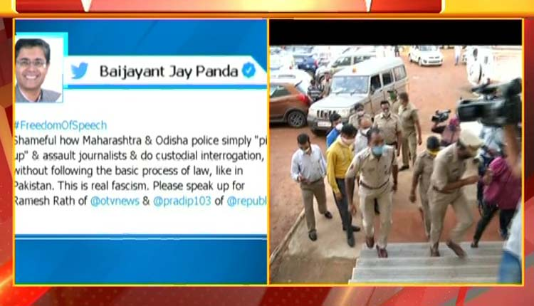 BJP VP Baijayant Panda Calls For Freedom Of Speech, BJD Sparks Twitter War