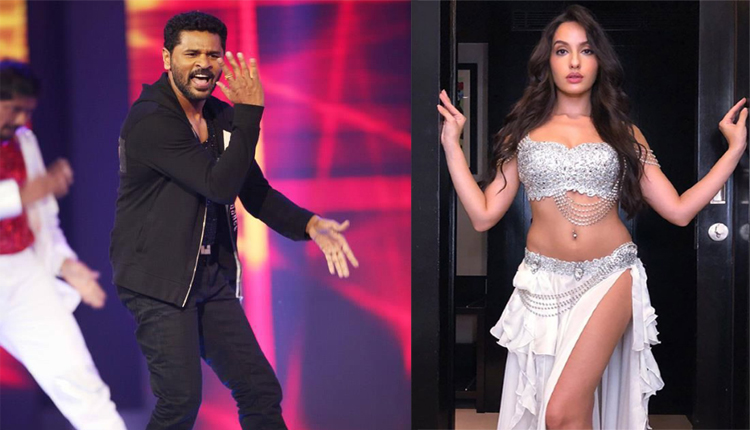 Nora Fatehi, Prabhu Deva Set Stage On Fire With Killer Moves #Watch