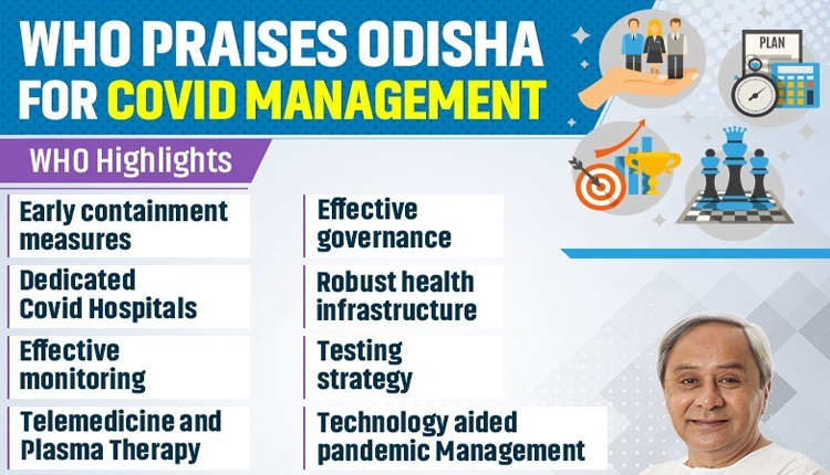 Odisha Earns Praise From WHO For COVID-19 Management