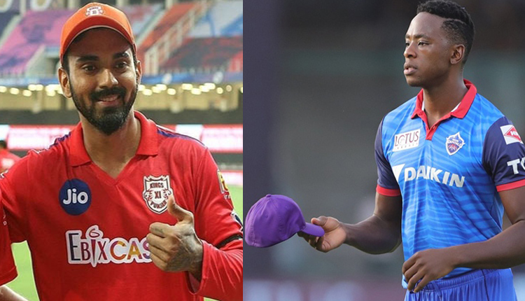 IPL 2020: Orange Cap Stays With KL Rahul, Purple With Kagiso Rabada