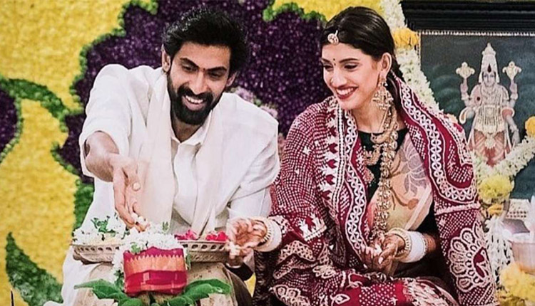 Rana Daggubati & Miheeka Bajaj's First Dussehra Celebrations After Wedding, See Pics