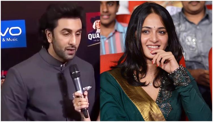Ranbir Kapoor Reveals His Crush On Anushka Shetty #Watch