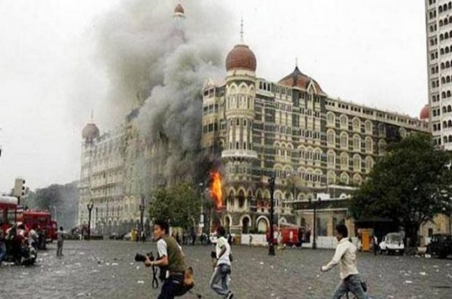 26/11 Attack on Mumbai's Taj Hotel