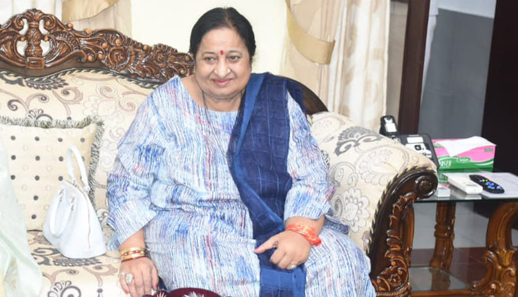 Sushila Devi, the first lady of the State and wife of Governor Prof Ganeshi Lal