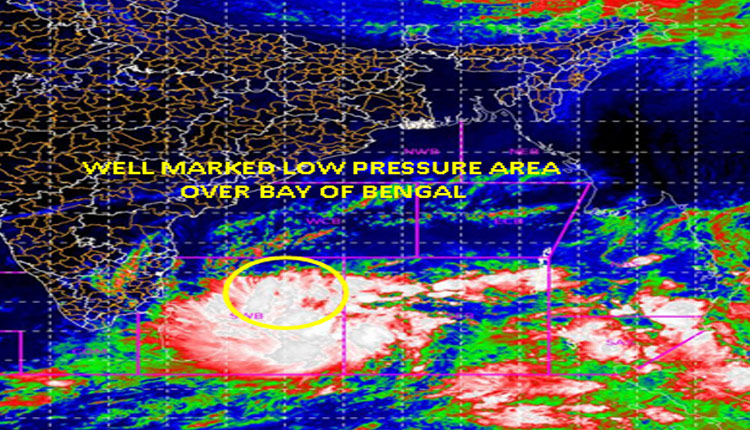 Low Pressure to intensify into cyclonic storm