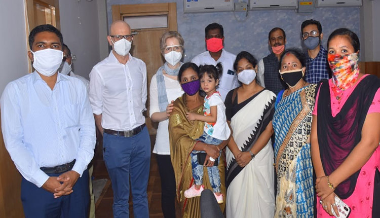 Odisha: Couple From Italy Adopts Girl Child In Gajapati
