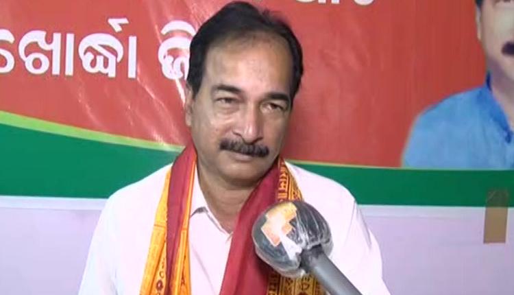 Khordha-BJP-President