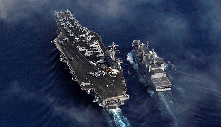 2nd Phase Of Malabar Naval Exercise Begins In Northern Arabian Sea
