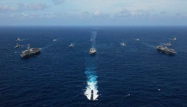 2nd Phase Of Malabar Naval Exercise Concludes In Arabian Sea