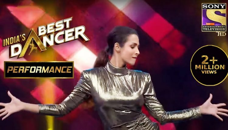 Malaika Arora in India's Best Dancer