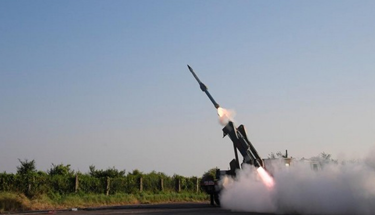 India Successfully Test-Fires Quick Reaction Surface To Air Missile Off Odisha Coast