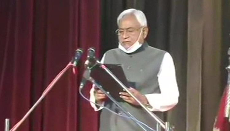 Nitish Kumar Takes Oath As Bihar CM For 7th Time