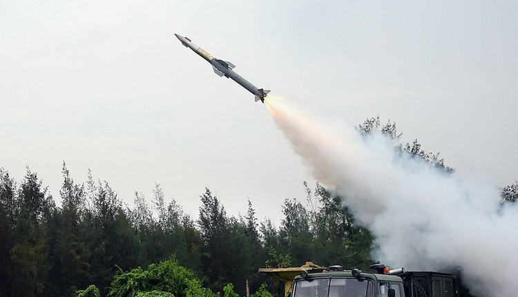 2nd Flight Test Of Quick Reaction Surface To Air Missile Conducted Successfully Off Odisha Coast