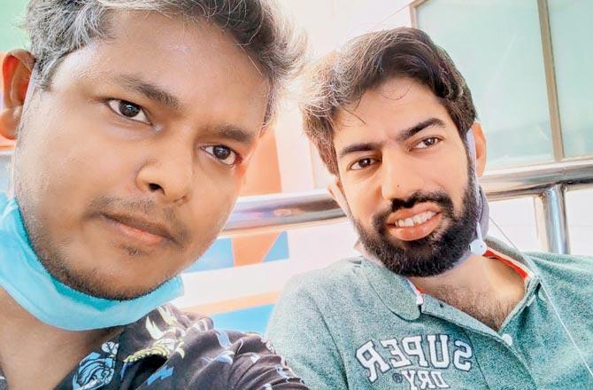 Rashid Siddiqui (left) and Vibhor Anand