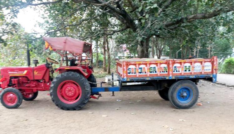 Tractor Seized In Chhattisgarh