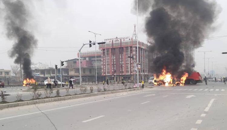 Afghan-Blasts