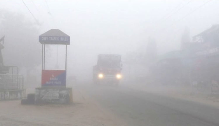 Fog engulfs several parts of Odisha