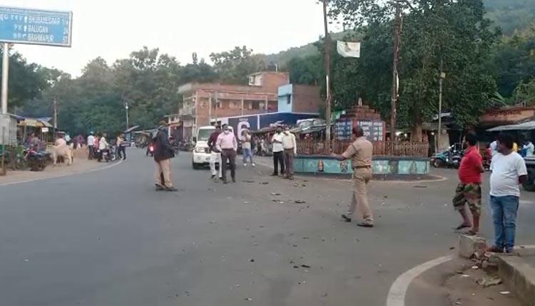 Odisha: Pillion Rider Killed In Crude Bomb Blast In Ganjam