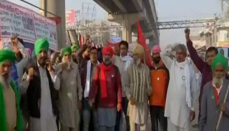 Naba Nirman Krushak Sangathan Lends Support To Farmers' Call For Bharat Bandh On Dec 8